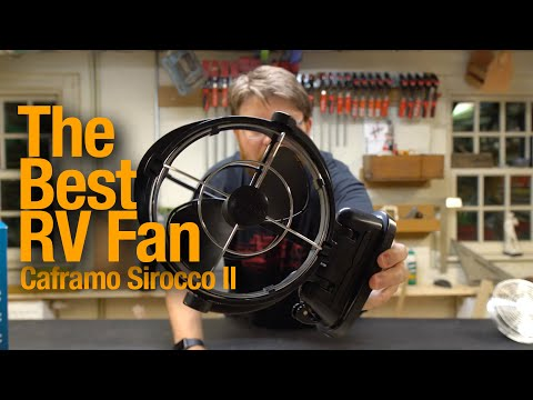 RV Gifts: The Best Fan For Boondockers: Caframo Sirocco II - My Favorite RV Mod! -- Details At 2:18!