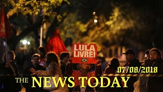 Brazil Judge Blocks Order To Release Of Lula From Prison | News Today | 07/09/2018 | Donald Trump