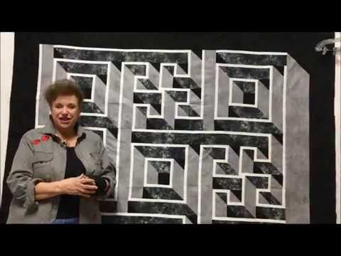 Sunshine Sewing And Quilting New Labyrinth Class YouTube Interesting Labyrinth Walk Quilt Pattern Free