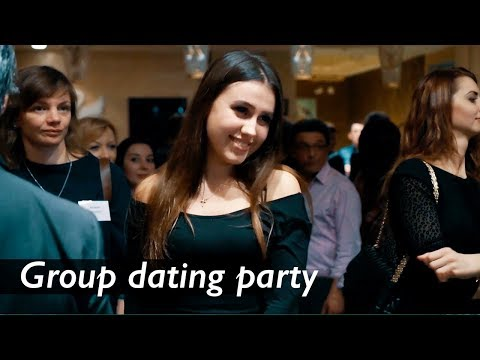 100 Beautiful Ukrainian Girls On The Group Dating Party