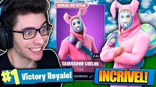 I BOUGHT THE SKIN OF THE KILLER RABBIT AND I KILLED GENERAL! Fortnite: Battle Royale