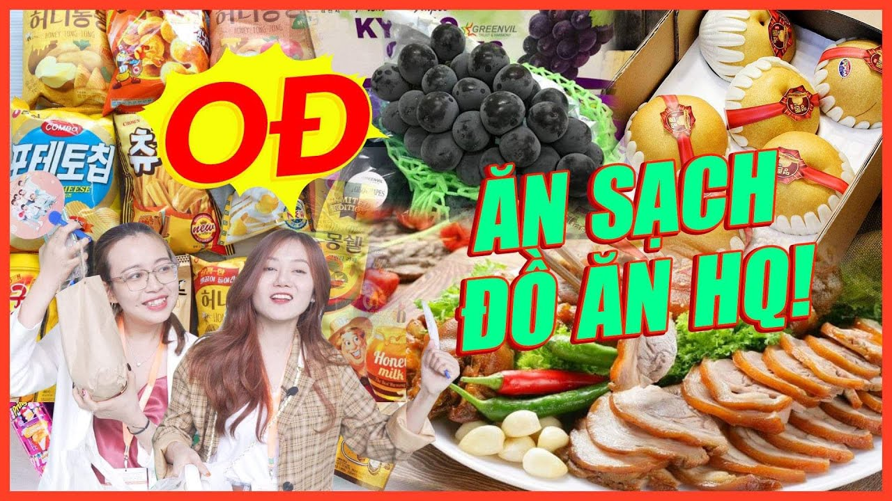 HNAG – 0đ mà ăn sạch tất cả các gian hàng đồ Hàn Quốc !