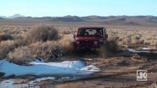 Project-JK Mojave Desert Black Mountain Wilderness Winter Run