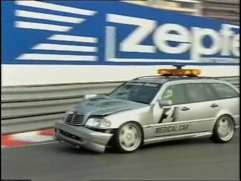 2000 Monaco Course Car Crash