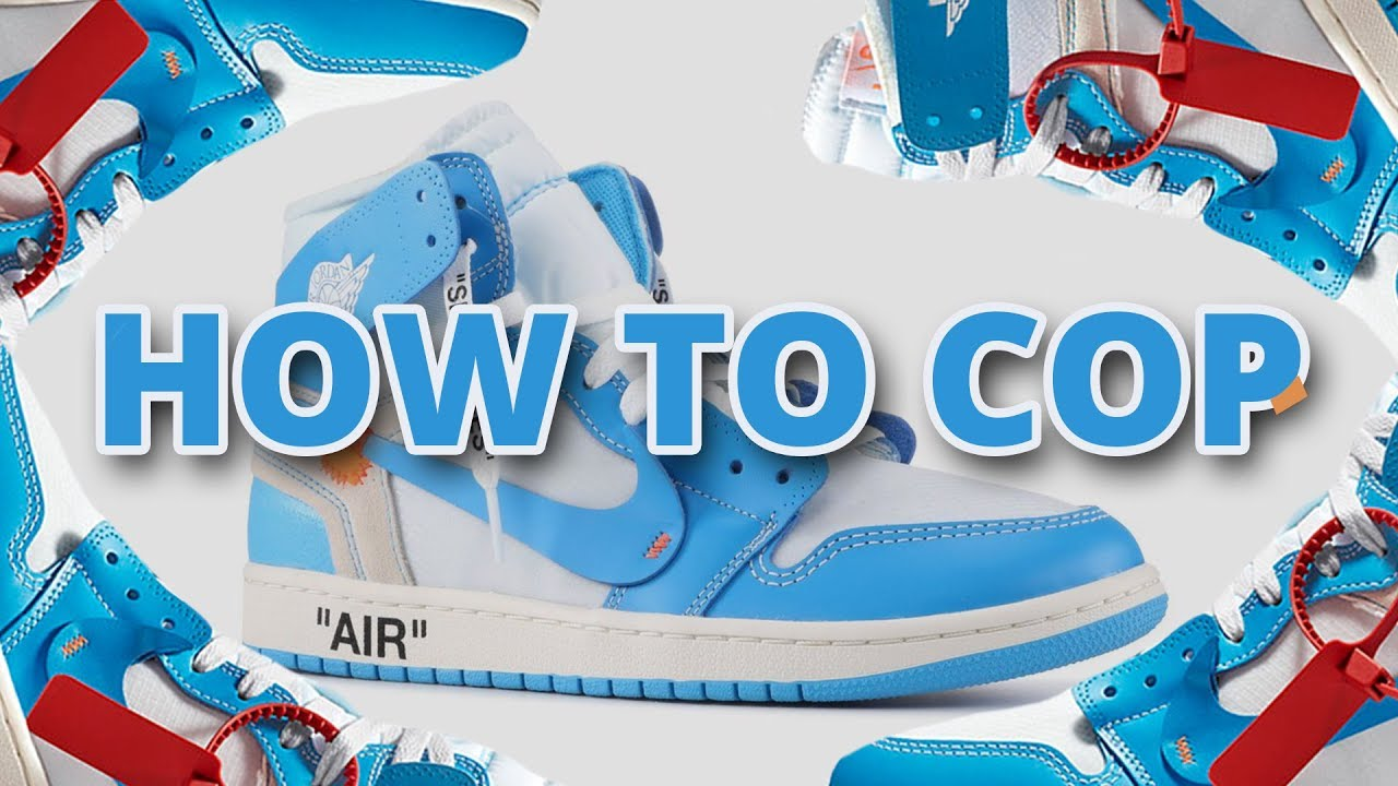 07e5b76c63e0b HOW TO COP Off White Jordan 1 UNC | Top Tips For Nike Website With Links &  Raffles