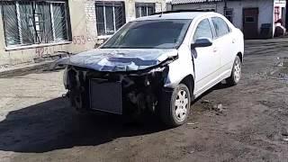 Скупка авто в Челябинске ! Выкупили Шевролет Кобальт после ДТП