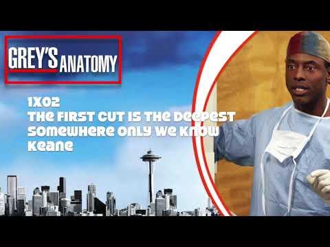 """Grey's Anatomy Soundtrack - """"Somewhere Only We Know"""" By Keane (1x02)"""