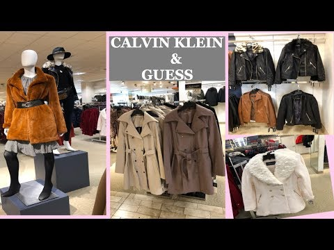 Calvin Klein ,Guess,Anne Klein Autumn/Winter Fashion Coats Collection| New Arrivals #October2019