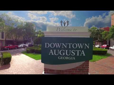 DOWNTOWN Augusta, GA  Like you've Never Seen Before