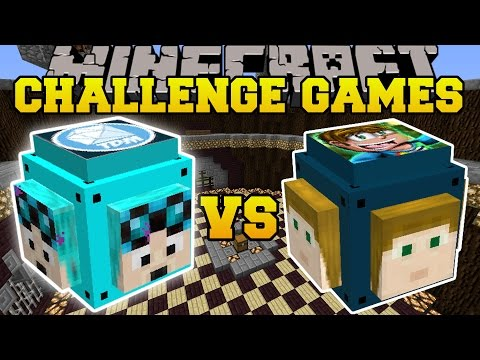 Minecraft: DANTDM VS CRAINER CHALLENGE GAMES - Lucky Block Mod - Modded Mini-Game