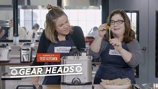 Gear Heads | Which Electric Deep Fryers Make the Crispiest, Gooiest Mozzarella Sticks?