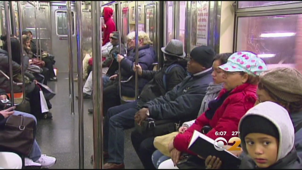 Remarkable sex on a subway was