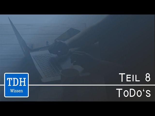 Doku mit FrameMaker – Teil 8: ToDos