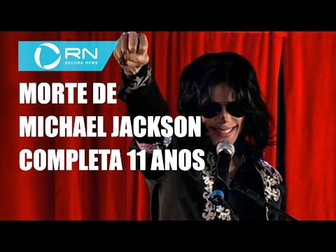 Morte de Michael Jackson completa 11 anos