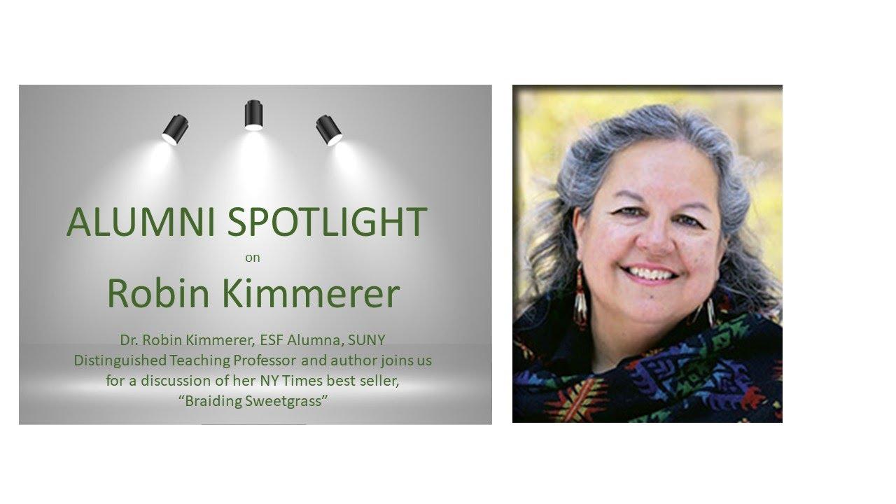 Image for ESF PRESENTS:  Alumni Spotlight with Robin Kimmerer webinar