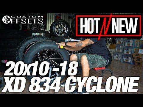 Hot n New Ep. 90: XD Cyclone XD834 20x10 -18