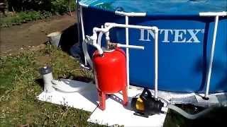 Песочный фильтр для бассейна своими руками!(, 2015-06-02T08:06:00.000Z)
