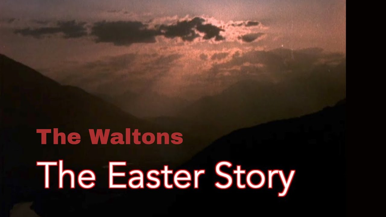 The Waltons - The Easter Story - behind the scenes with Judy Norton
