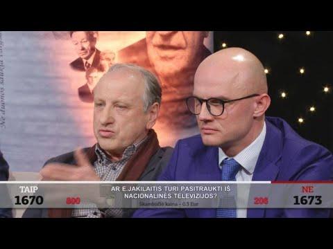 """Emocijos laidoje """"Nuoga tiesa"""" – į studiją įsiveržė E. Jakilaitis"""