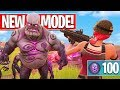 New ZOMBIES Game Mode! (Fortnite Battle Royale)