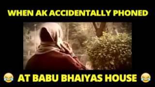 Babu bhaiya comedy !!