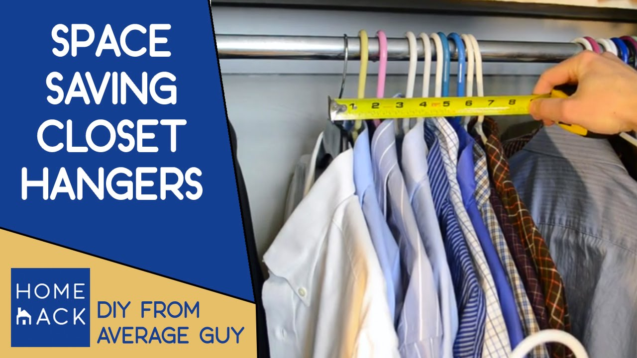 Ordinaire Closet Hangers That Save Closet Space   YouTube