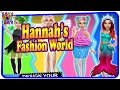 Hannah's Fashion World - Dress Up makeover games - by Tuto Toons