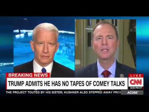 Thumbnail: Anderson Cooper Panel Interview President Trump has no tapes of Comey