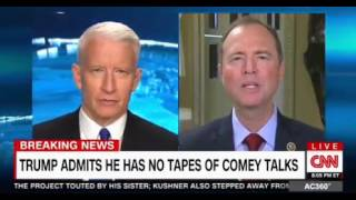Anderson Cooper Panel Interview  President Trump has no tapes of Comey
