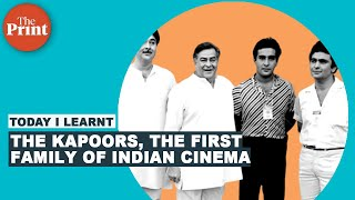 What makes the Kapoors Indian cinema's First Family?