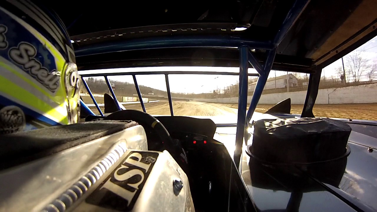 Nick Snell At Atomic Sdway In Car Sharp Mini Latemodel With Legend Cars