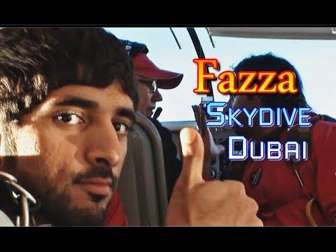 Crown Prince of Dubai Sheikh Hamdan (فزاع Fazza) Skydive Dubai 🚁