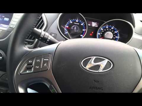 Hyunday ix35 CRDi 2.0 diesel 4wd 2015 Interior