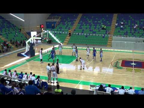 El Salvador vs. Nicaragua Basketball 2013 Partial Game Tape