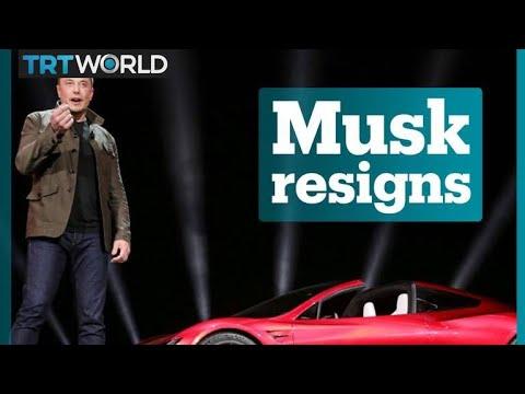 Elon Musk resigns as Tesla chairman