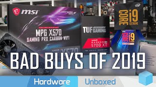 The Worst CPU & GPU Purchases of 2019