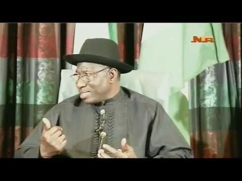Media Chat With President GEJ
