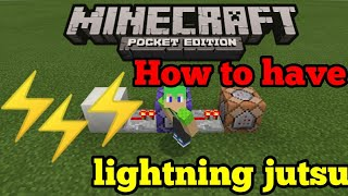 minecraft command block xbox one lightning
