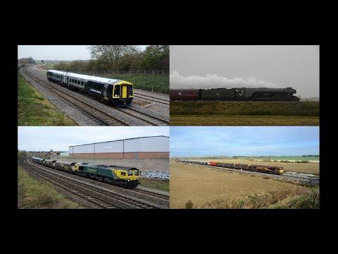 Midlands Motive Power Highlights   November 2017, Part 1 HD