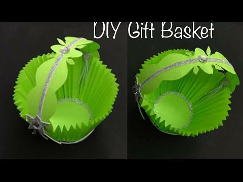 Diy paper basket: How to Make Easy Paper Basket: Christmas Gift Basket