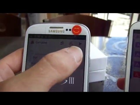 Samsung Galaxy SIII Crypto Phone Demo S3 * Private * Secure * Anonymous * Encrypted *