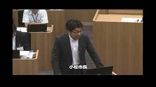 武雄市議会H30 6 12一般質問 上田雄一 thumbnail