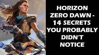 Horizon Zero Dawn - 14 Secrets, Easter Eggs And References You Probably Missed