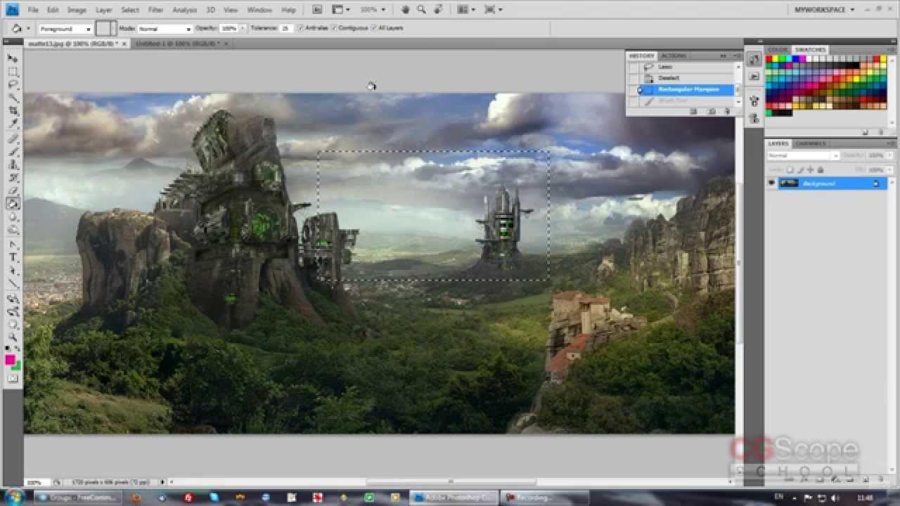 6 урок - Эксперт в Photoshop за 30 дней