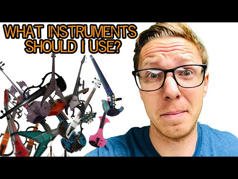 Selecting Instruments for Your Electric Orchestra
