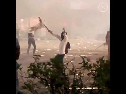 видео: Видео масштабных протестов в Индонезии попало в Сеть