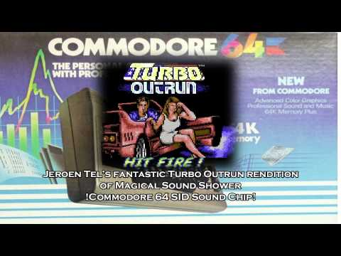 Commodore 64   Jeroen Tel - Turbo Outrun Magical Sound Shower mix