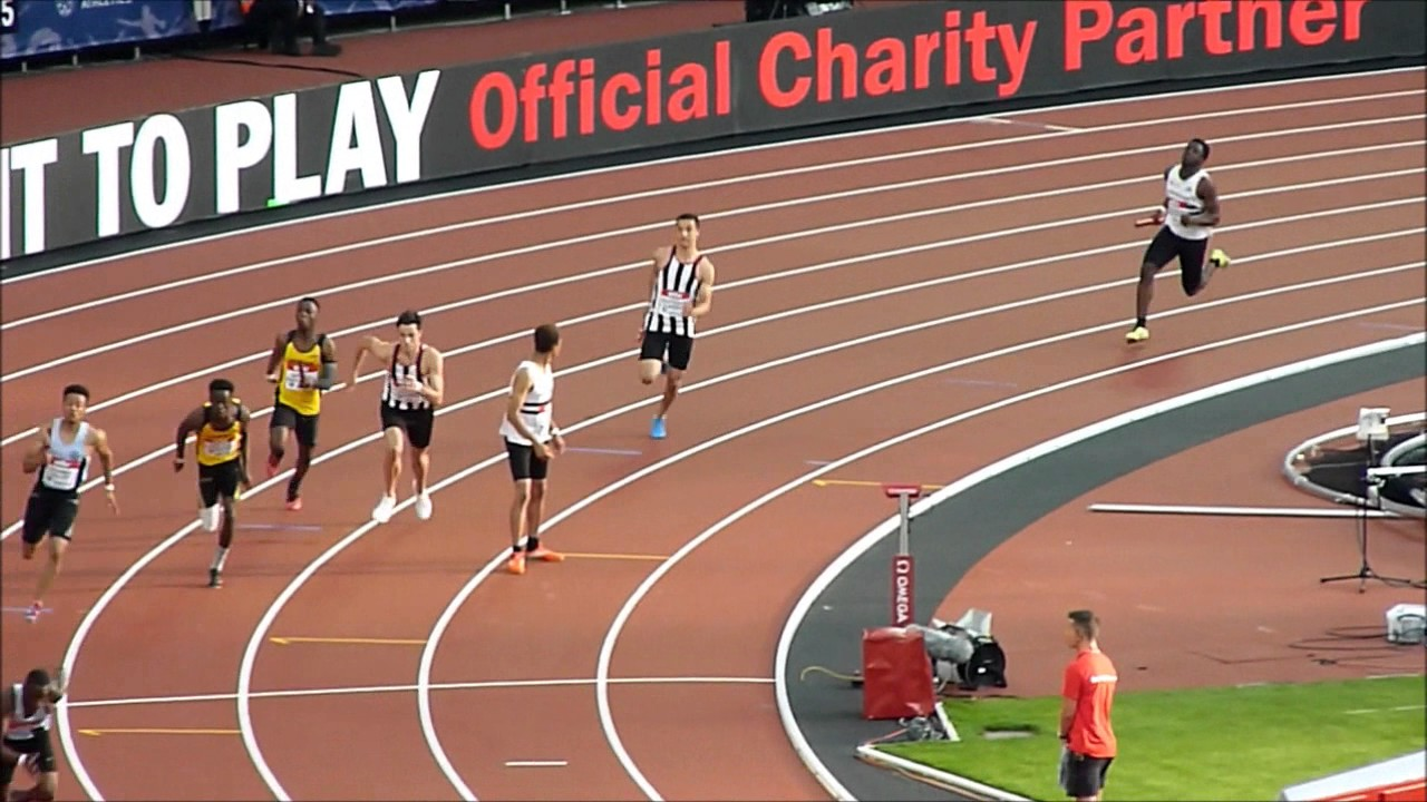Croydon harriers at the anniversary games 2016 club connect relays