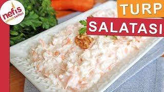 Turp Salatası Nasıl Yapılır? - Salata Tarifleri - Nefis Yemek Tarifleri
