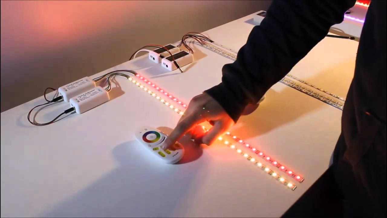 ledtuning nl werking 4 zone rgb led strip controller. Black Bedroom Furniture Sets. Home Design Ideas